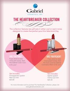 Gabriel Cosmetics- Valentine Sheet